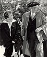 Governor General Roland Michener at Alma College graduation ceremonies 1972.jpg