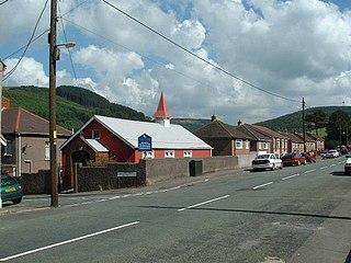 Goytre Human settlement in Wales