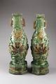 Gröna tempelvaser gjorda i Kina - Hallwylska museet - 96135.tif