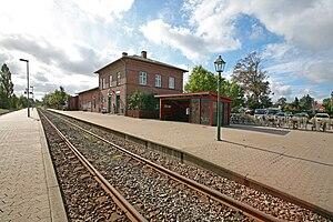 Græsted station - Image: Graested Station TRS