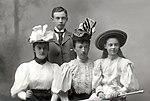 Grand Duchess Anstasia Mikhailovna of Russia with three chidlren.jpg