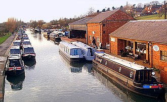 Northamptonshire - The Grand Union Canal at Braunston
