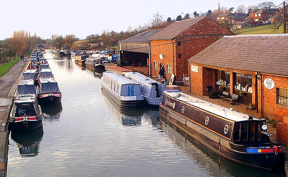 Grand Union Canal at Braunston