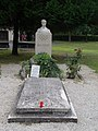 Grave of Ferenc Csik (olympic champion swimmer) in Keszthely, 2016 Hungary.jpg