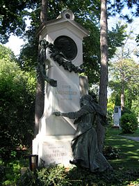 Grave of Ludwig Anzengruber Wiener Zentralfriedhof.JPG