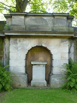 William Henry Playfair - Playfair's grave, Edinburgh