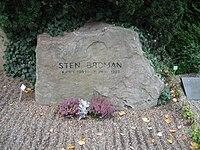 Grave of sten broman lund sweden.JPG
