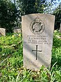 Gravestone of Jeffrey James Whitney of the Rifle Brigade at the SS Peter and Paul Church, Great Missenden, April 2020.jpg