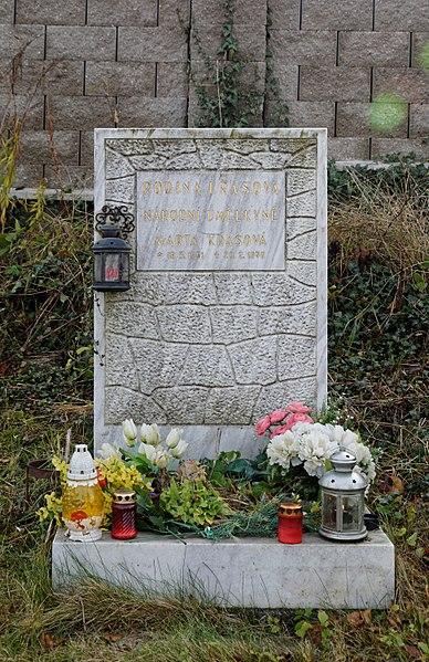 File:Gravestone of Marta Krásová, Vráž (0375).jpg