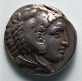Greece, Macedonia, Alexander the Great - Tetradrachm- Head of Young Herakles in Lion Skin (obverse) - 1916.981.a - Cleveland Museum of Art.tif
