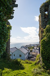 Greencastle, County Donegal Town in Ulster, Ireland