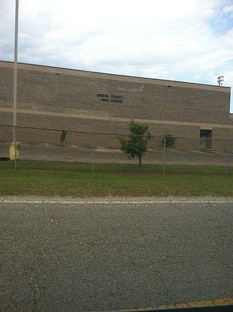 Leakesville, Mississippi - Greene County High School