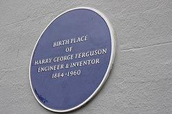 Photo of Henry George Ferguson blue plaque