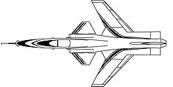Plans d'un jet expérimental Grumman X-29 de l'USAAF.Le progrès technologique pendant la guerre froide, continuateur de l'élan militariste de la conflagration mondiale au milieu du siècle, fut un véritable bond en avant qui choqua les consciences aussi durablement que la compétitivité de l'Occident avec l'URSS perdura. Cet attrait pour la technique suscita nombre de récits d'anticipation: jusqu'où l'homme pouvait-il aller?