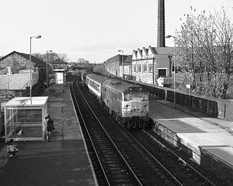 Guiseley railway station - The station before electrification