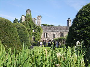 Gwydir Castle - Gwydir Castle viewed from the Dutch garden