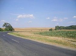 Kisalföldi táj Bakonybánk és Lázi között 16a92bedcf