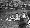 Gyerekek 1940-ben Budapesten a Kissvábhegyen. Fortepan 16969.jpg