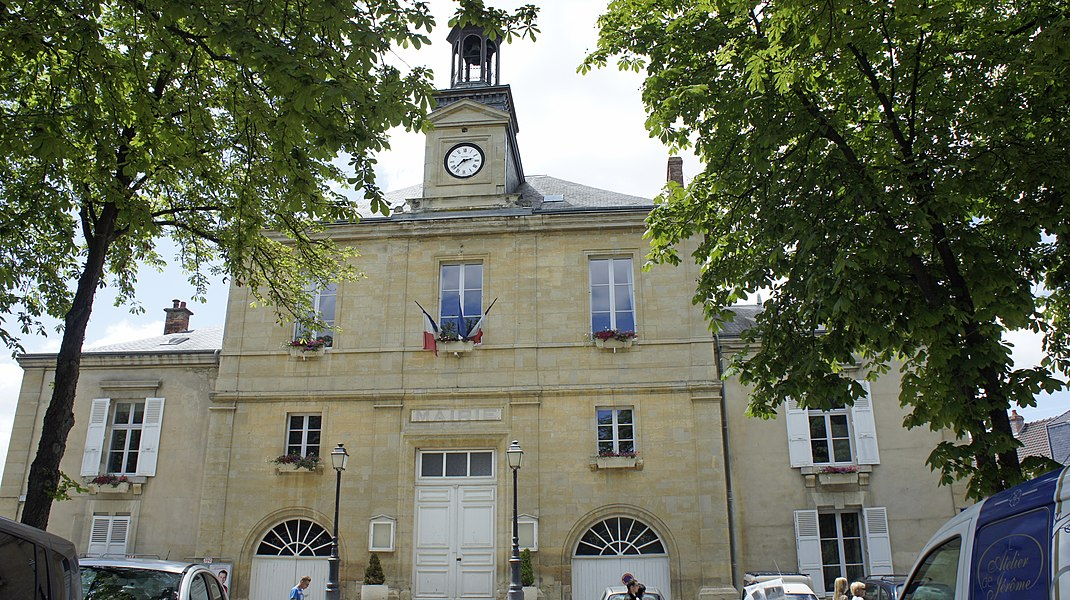 Mairie à Hermonville.
