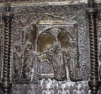 Chest of Saint Simeon - Image: HAZU 73 17 lipnja 2008