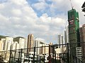 HK Causeway Bay Moreton Terrace Park view Tai Hang 尚巒 Warrenwoods building construction site Feb-2012.jpg