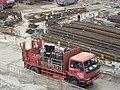HK Central Ferry Piers reclamation site 香港氧氣 HKOxygen truck.JPG