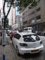 HK Sheung Wan 上環 樂古道 Lok Ku Road carparking Mazda 3S back June-2012.JPG