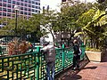 HK YMT 油麻地 Shanghai Street Market Street Playground 上海街遊樂場 visitors Jan-2014.JPG