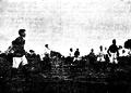 HMS Amphion crew football match in Lima, Peru (1904).png