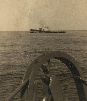 HMT Aragon - HMS Attack sinking