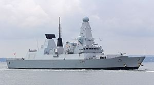 HMS Diamond (D34) - Image: HMS Diamond 1