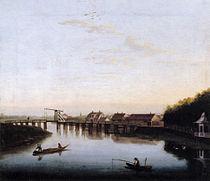 Hackert, Die Spree mit Schlossbrücke bei Charlottenburg II, 1762.jpg