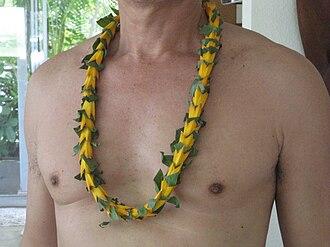 Hoʻoponopono - Image: Hala lei