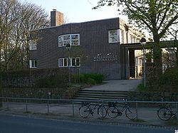 Entrance area of the Walddörfer-Gymnasium