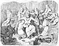 Hammar-hämtningen II. Thor klädes till brud.jpg