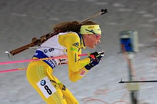 Hanna Öberg Swedish biathlete