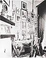 Hannah de Rothschild's studio, Mentmore 1871.jpg