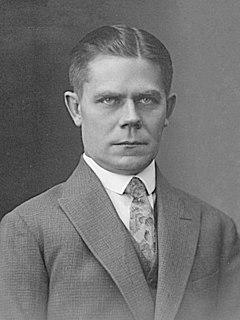 Hans Kruus Estonian historian, politician and university teacher (1891-1976)