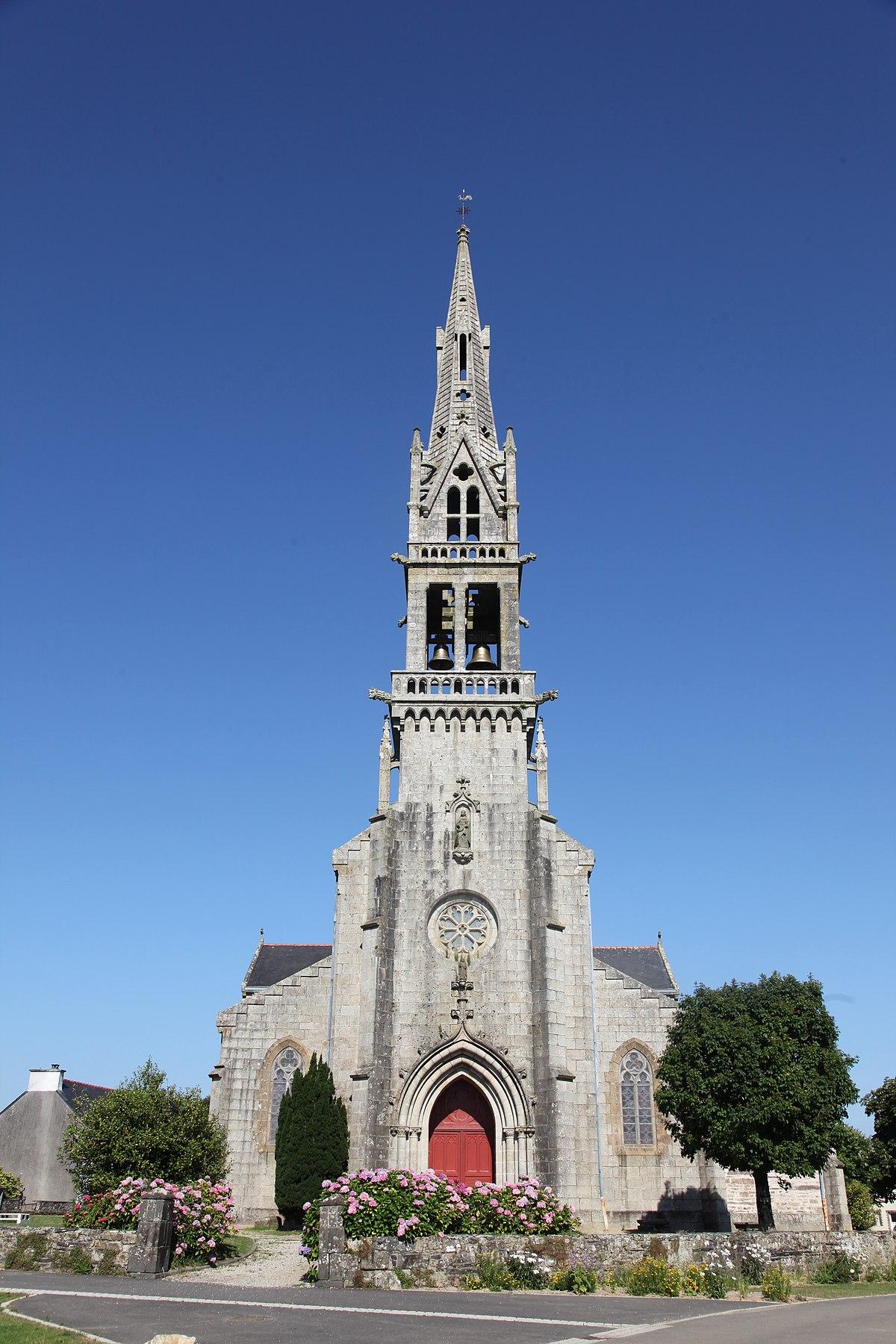 Église Saint-Pierre d'Hanvec — Wikipédia