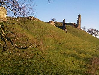 Harbottle Castle - Ruins of Harbottle Castle