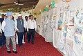 "Hardeep Singh Puri visiting an exhibition of the Painting, Essay, Slogan, Graffitti competition, organised by Hindustan Prefab Limited, as part of the ""Swachhta Hi Seva"" Abhiyan, in New Delhi (1).JPG"
