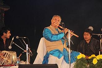 Hariprasad Chaurasia - Hariprasad Chaurasia at Bhubaneswar, 2015