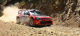 Harri Rovanperä - Rovanperä at the 2005 Cyprus Rally.