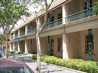 George Harris (Queensland politician) - Harris Terrace, 2007