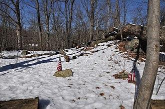 Stony Hill Cemetery - Image: Harrison NY Stony Hill Cemetery 2