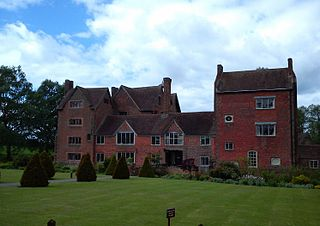 Harvington Hall Grade I listed historic house museum in Wyre Forest, United Kingdom