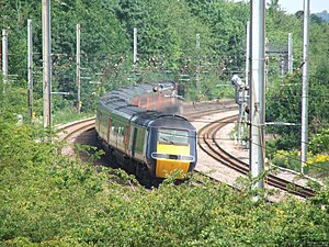 Hatfield railway station - Image: Hatfield Station Train
