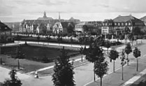 Haumannplatz Essen-Rüttenscheid um 1920.jpg
