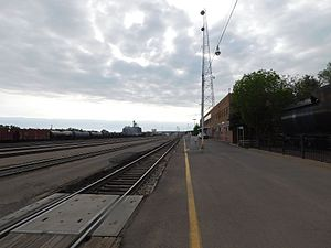 Havre station - Havre station in May 2017.