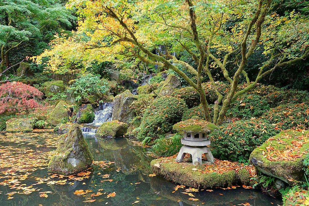 File:Heavenly Falls - Portland Japanese Garden - Portland, Oregon ...